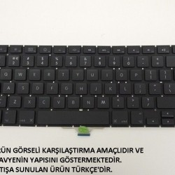 Apple MacBook Air 13-inch Notebook Klavye - Tuş Takımı / Siyah - TR - Ver.2