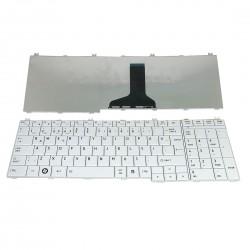 Toshiba Satellite C650, L650, L670 Notebook Klavyesi - Beyaz - TR