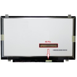 14.0'' Wxga HD 1366x768 Mat B140XW02 V.1 Notebook Lcd - 40 Pin 14.0 Slim Led