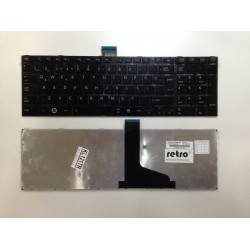 Toshiba Satellite C850, L850 Notebook Klavyesi - Siyah - TR - WF