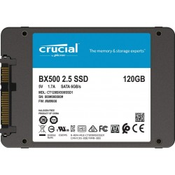 Crucial BX500 120GB SATA 3 2.5'' CT120BX500SSD1 SSD Notebook Harddisk