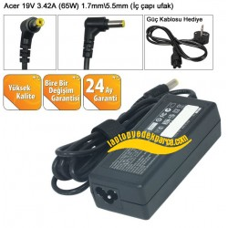 Acer 19V 3.42A Notebook Adaptörü