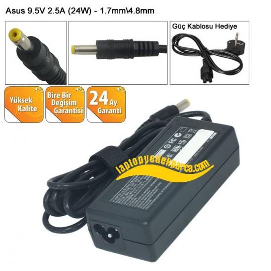 Asus 9.5V 2.5A (24W)Notebook Adaptör