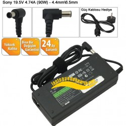 Standart Sony 19.5V 4.74A (90W) Notebook Adaptör