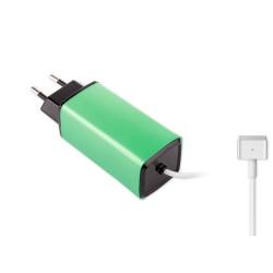 -Color, Apple MacBook 85W MagSafe 2 Mini Adaptör - Yeşil
