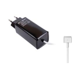 -Color, Apple MacBook 85W MagSafe 2 Mini Adaptör - Siyah