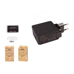 30W USB-C PD + 12W USB 2-in-1 Adaptör RNA-UTC42