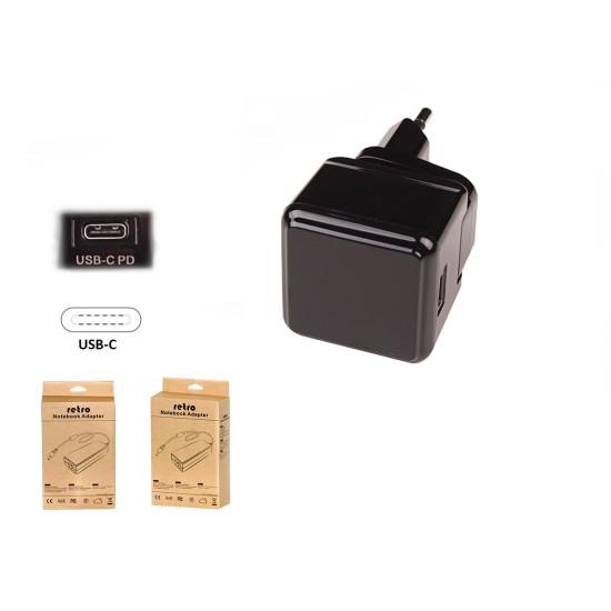 18W USB-C PD Tablet ve Telefon Adaptörü