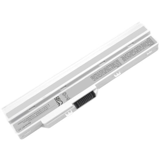 Lg X110, Datron Mobee N011, Msi U100 Notebook Bataryası - Beyaz - 6 Cell