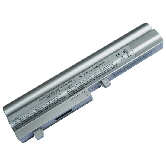 Toshiba NB200, NB205 Notebook Bataryası - Silver - 6 Cell