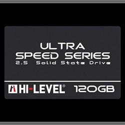 """Hi-Level Ultra 120GB 550MB-530MB/s 2,5"""" Sata3 SSD HLV-SSD30ULT/120G Notebook Harddisk"""