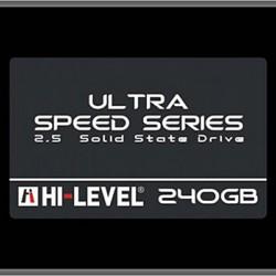 """Hi-Level Ultra 240GB 550MB-530MB/s Sata3 2,5"""" SSD Notebook Harddisk"""