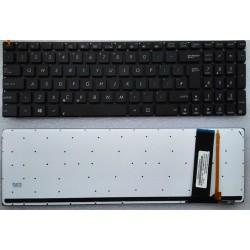 Asus N750, N750J, N750Jk, N750Jv Notebook Klavye Siyah