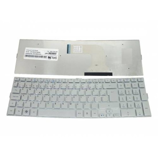 Acer 5943, 5943G, 5950G, 5950, 8943, 8943G Notebook Klavye TR PK130C31019, MP-09N66TQ6698