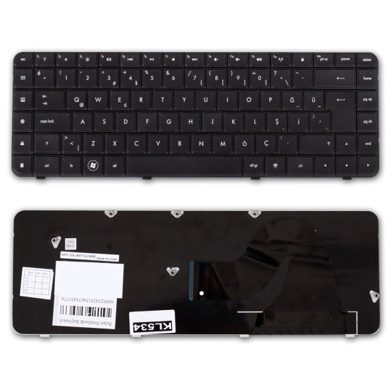 Compaq Presario CQ56, CQ62, Hp G56, G62 Notebook Klavyesi - TR