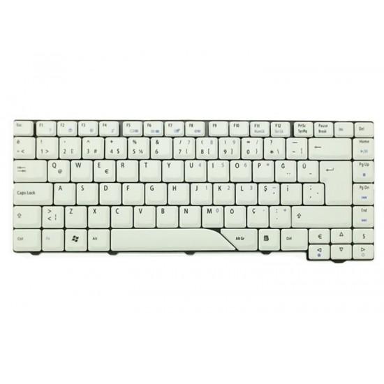 Notebook Klavye - Acer Aspire 5520 Beyaz Klavye