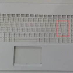 Asus X551C, X551M Notebook Üst Kasa - Beyaz